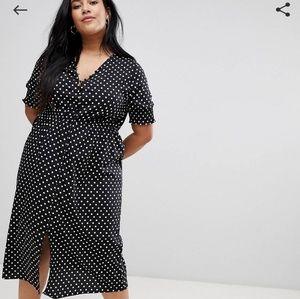 ASOS light weight midi dress